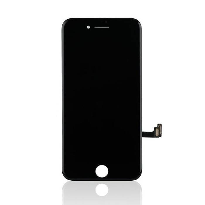 iPhone 8 Screen (Touchscreen + LCD + Parts) AA + Quality - Black