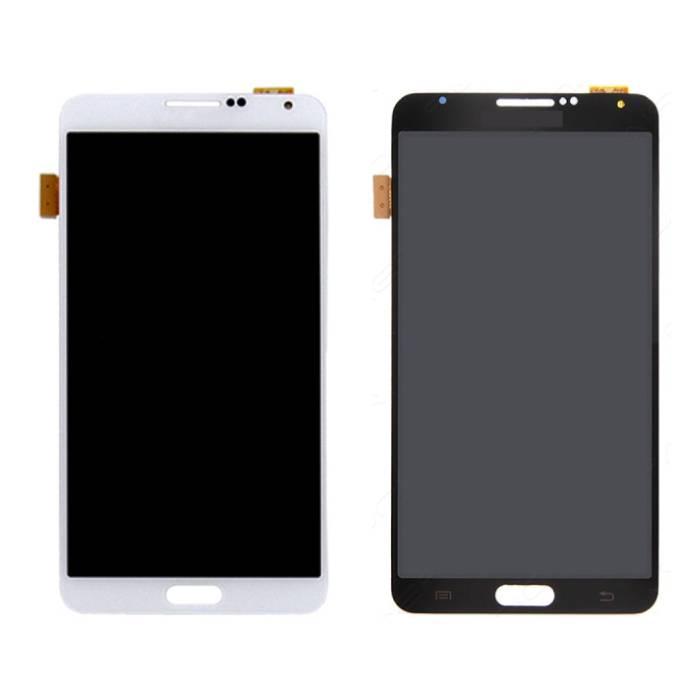 Samsung Galaxy Note 3 N9000 (3G) Bildschirm (Touchscreen + AMOLED + Teile) AAA + Qualität - Schwarz / Weiß