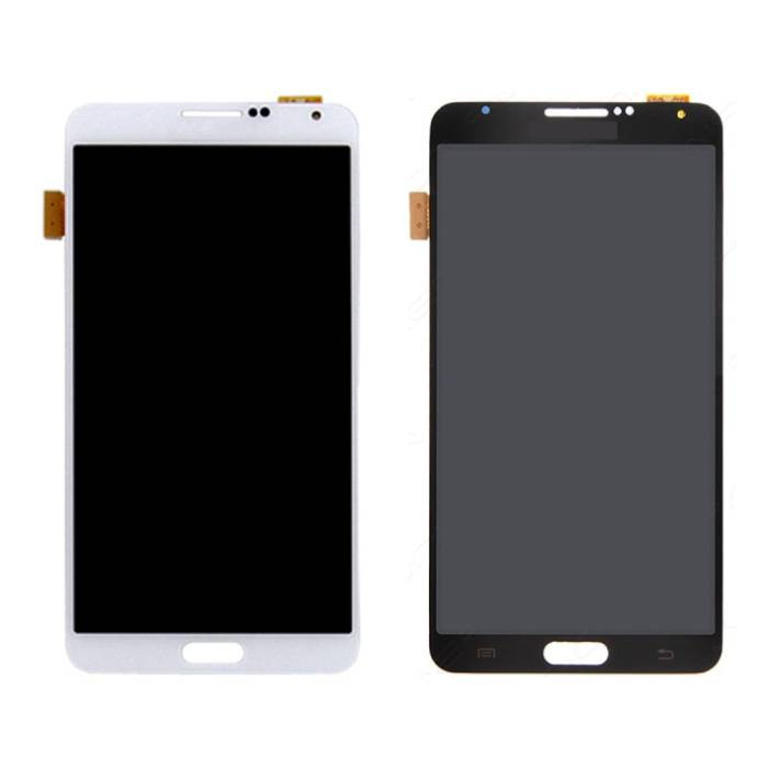 Samsung Galaxy Note 3 N9005 (4G) Scherm (Touchscreen + AMOLED + Onderdelen) AAA+ Kwaliteit - Zwart/Wit