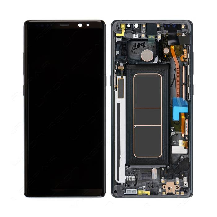 Samsung Galaxy Note 8 Scherm (Touchscreen + AMOLED + Onderdelen) AAA+ Kwaliteit - Zwart