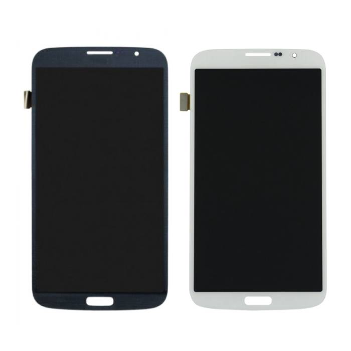 Samsung Galaxy Mega 6.3 i9200 / i9205 screen (AMOLED Touchscreen + + parts) A + Quality - Black / White
