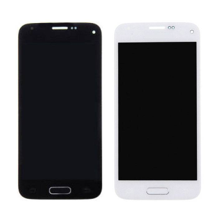Mini écran Samsung Galaxy S5 (écran tactile + AMOLED + pièces) Qualité A + - Bleu / Blanc