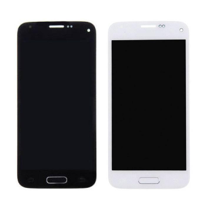Samsung Galaxy S5 Mini Scherm (Touchscreen + AMOLED + Onderdelen) A+ Kwaliteit - Blauw/Wit