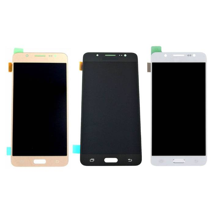 Samsung Galaxy J5 2016 Bildschirm (Touchscreen + AMOLED + Teile) AAA + Qualität - Schwarz / Weiß / Gold