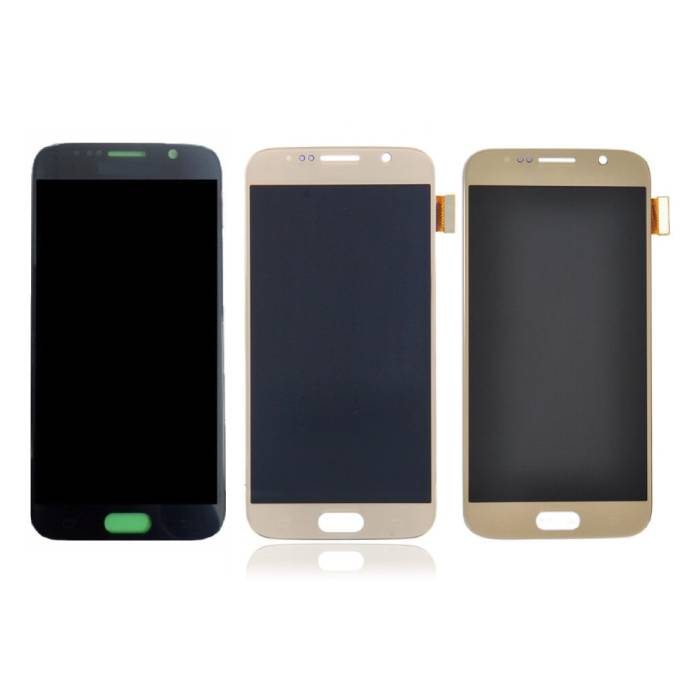 Écran Samsung Galaxy S6 (Écran tactile + AMOLED + Pièces) Qualité A + - Noir / Blanc / Or / Bleu