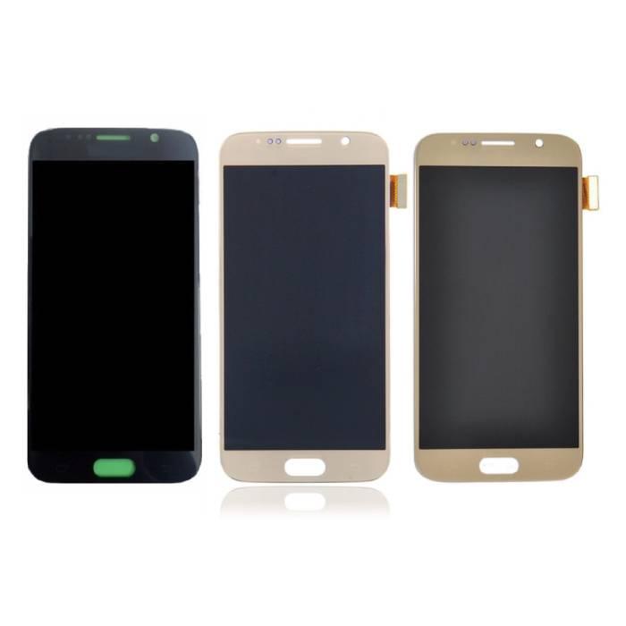 Samsung Galaxy S6 Scherm (Touchscreen + AMOLED + Onderdelen) A+ Kwaliteit - Zwart/Wit/Goud/Blauw