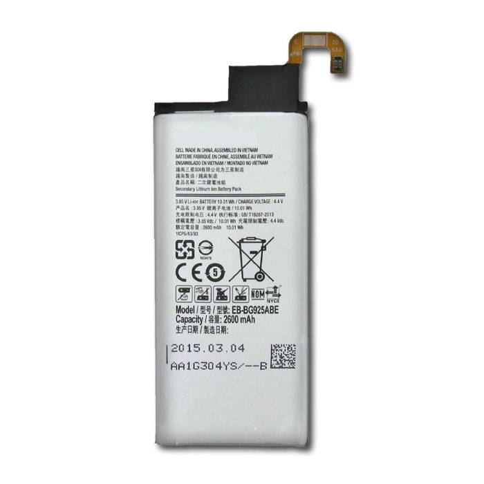 Samsung Galaxy S6 Edge Battery / Battery A + Quality