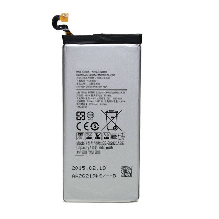 Samsung Galaxy S6 Battery / Battery A + Quality
