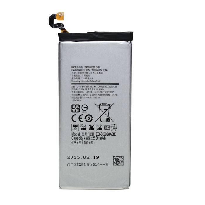 Batterie Samsung Galaxy S6 / Batterie AAA + Qualité