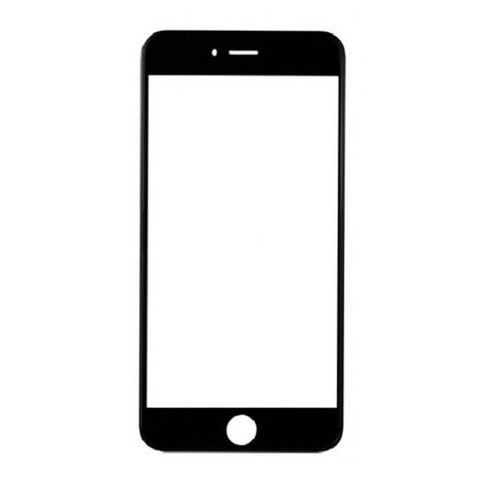 Plaque de verre avant en verre avant pour iPhone 8 Qualité A + - Noir