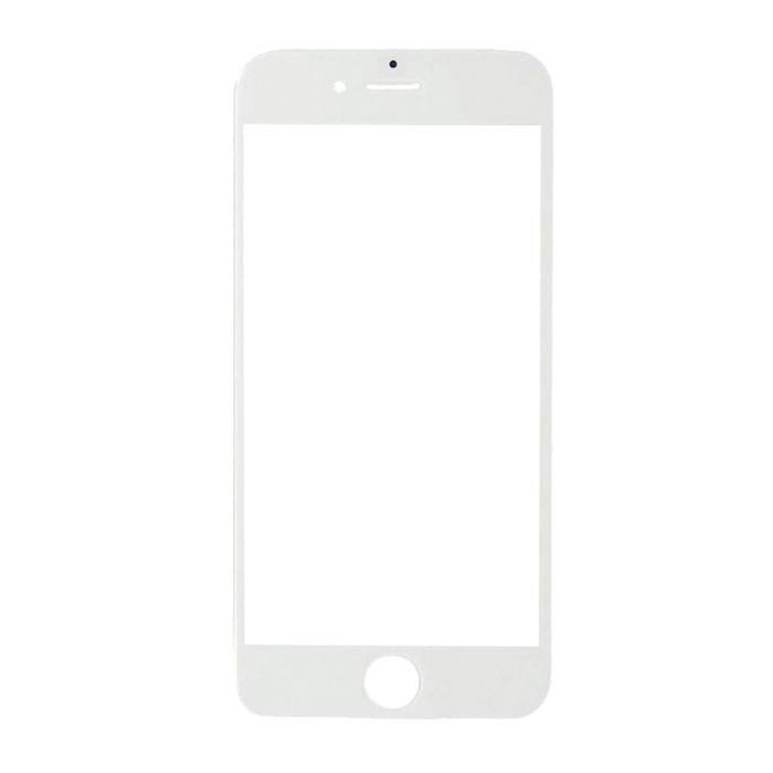 Plaque de verre avant en verre avant de 4,7 po pour iPhone 6 / 6S de 4,7 po de qualité A + - Blanc