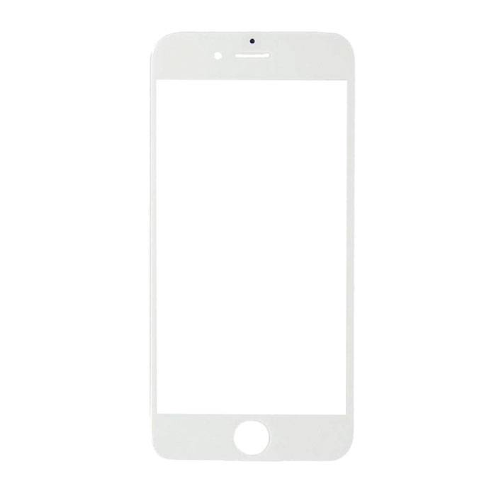 """Plaque de verre avant en verre avant pour iPhone 6 / 6S 4,7 """"Qualité A + - Blanc"""