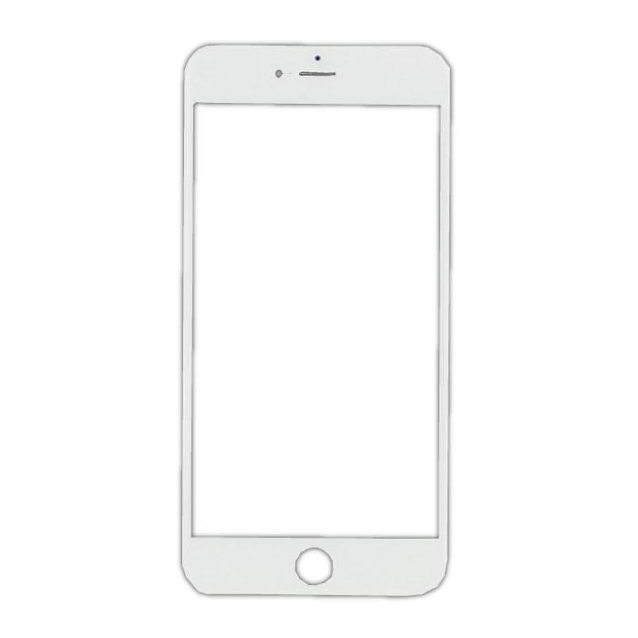 Plaque de verre avant en verre avant pour iPhone 7 Plus Qualité A + - Blanc