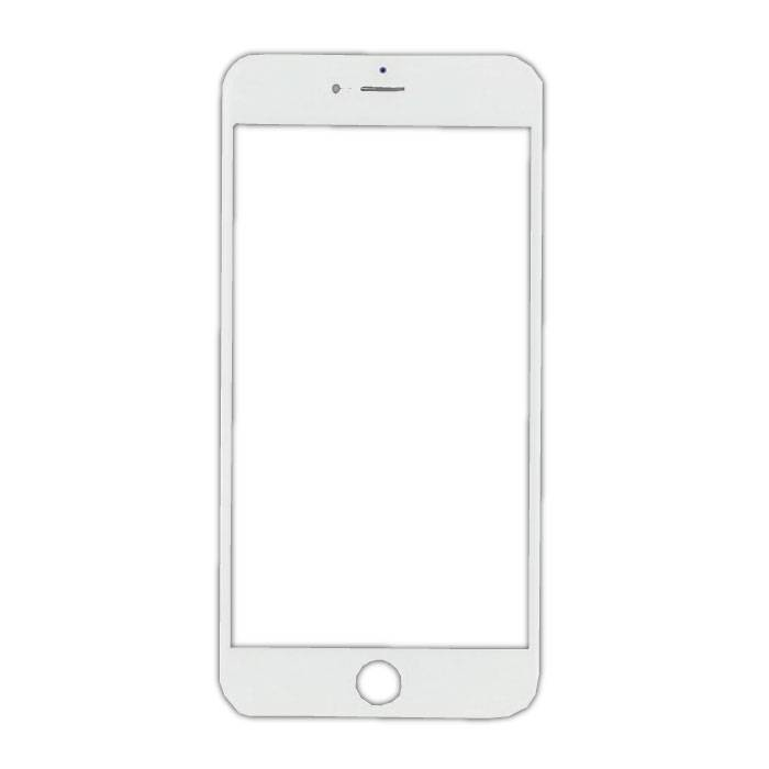 iPhone 7 Plus Front Glass Glass Plate AAA + Quality - White