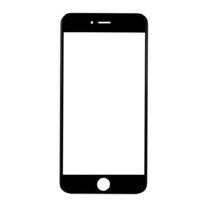 iPhone 7 Front Glass Glass Plate A + Quality - Black