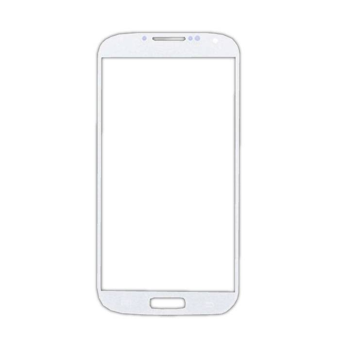 Samsung Galaxy S4 i9500 Glas Plaat Frontglas A+ Kwaliteit - Wit
