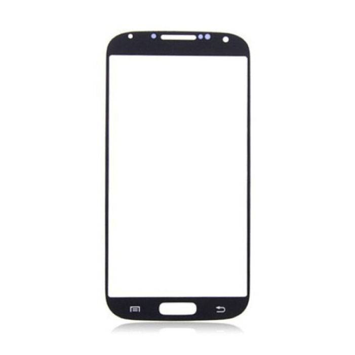 Samsung Galaxy S4 i9500 Front Glass Glass Plate A + Quality - Black