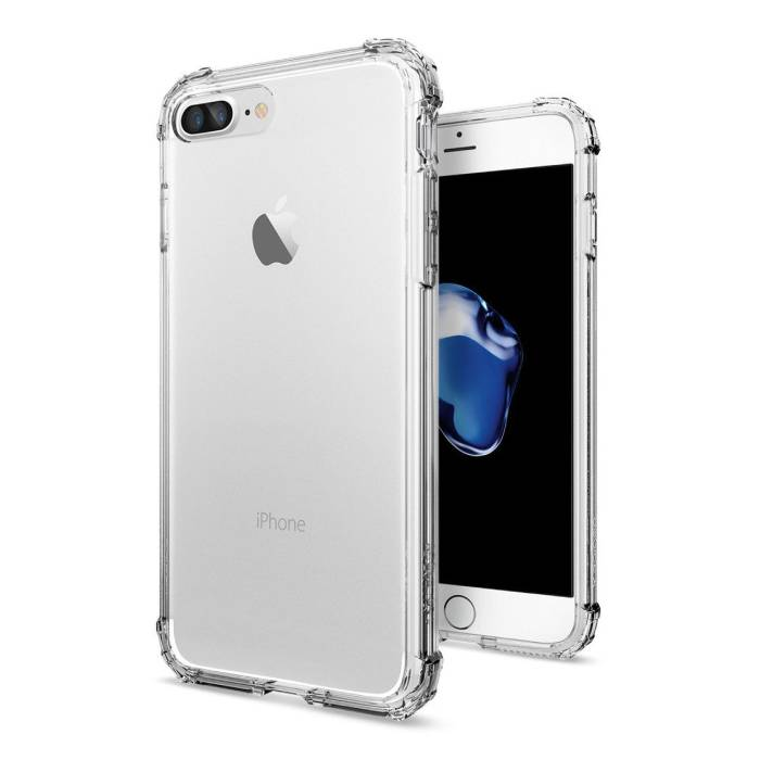 Transparant Clear Flexible Gel Bumper Case Cover Hoesje iPhone 7 Plus