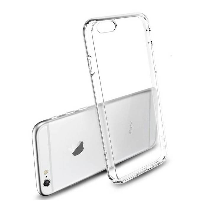iPhone 6S Transparant Clear Hard Case Cover Hoesje