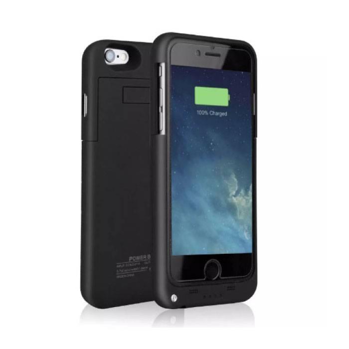 iPhone 6 Plus Plus 6S 4000mAh Alimentation cas Banque d'alimentation Chargeur de batterie Housse Case