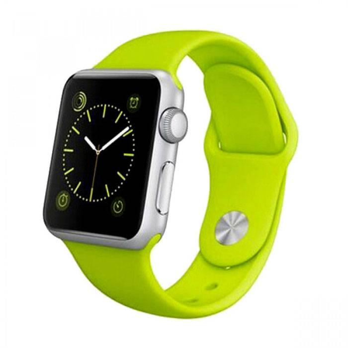 Origine A1 / W8 SmartWatch Smartphone Fitness Sports Tracker activité Regarder OLED iOS iPhone Android Samsung Huawei Vert