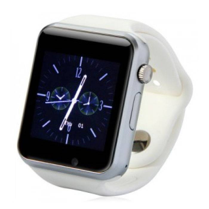 Original A1 / W8 Smartwatch Watch OLED Smartphone Android iOS White