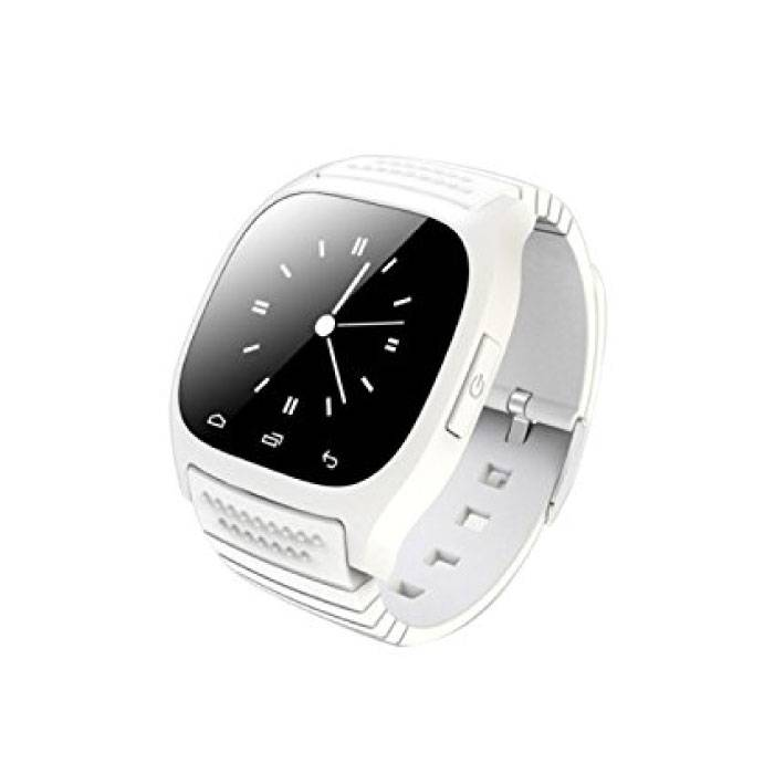 Originele M26 Smartwatch Smartphone Fitness Sport Activity Tracker Horloge OLED Android iOS iPhone Samsung Huawei Wit
