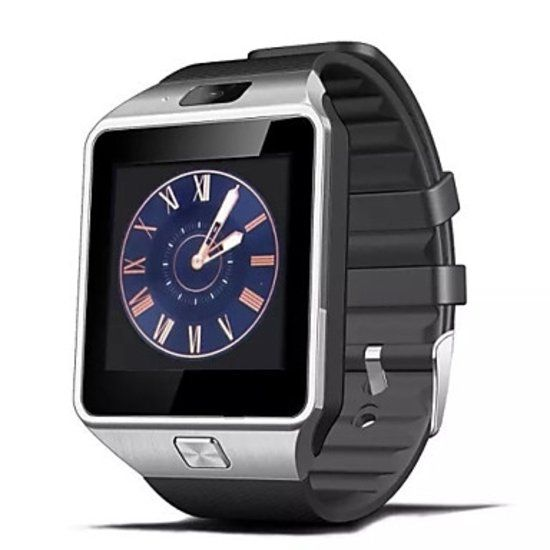 Original DZ09 SmartWatch Smartphone Fitness Sports Tracker activité Montre OLED Samsung Huawei Android iOS iPhone Argent