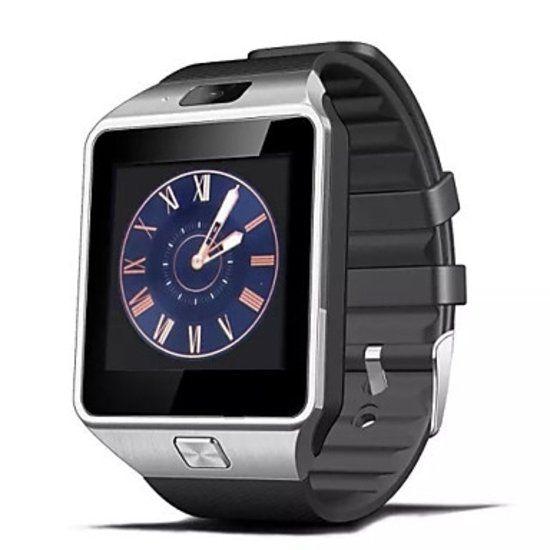 Originele DZ09 Smartwatch Smartphone Fitness Sport Activity Tracker Horloge OLED Android iOS iPhone Samsung Huawei Zilver