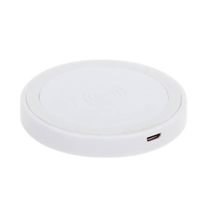 Q5 Universal Qi chargeur sans fil 5V - 1A de charge sans fil Pad blanc