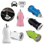Stuff Certified® 3-Pack iPhone/iPad/iPod AAA+ Autolader USB - Snel opladen - 5 Kleuren