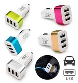 Stuff Certified® 5-Pack haute vitesse 3 ports Chargeur / Carcharger - 5 couleurs