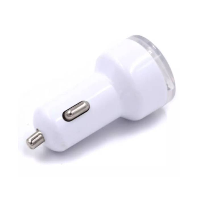 3-Pack High Speed ??Dual Car Charger / Dual Carcharger White