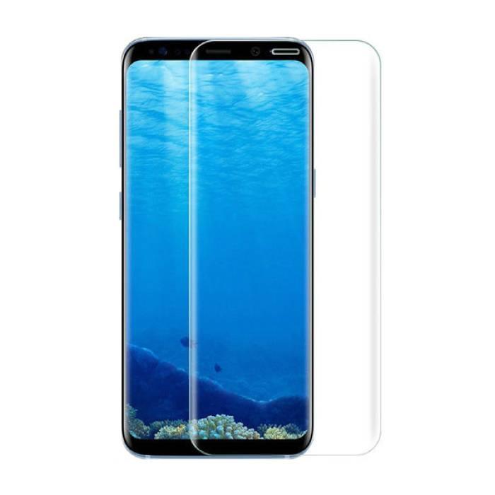 Samsung Galaxy S9 Plus DisplayschutzfolieTemperglasglas gehärtete Glasgläser