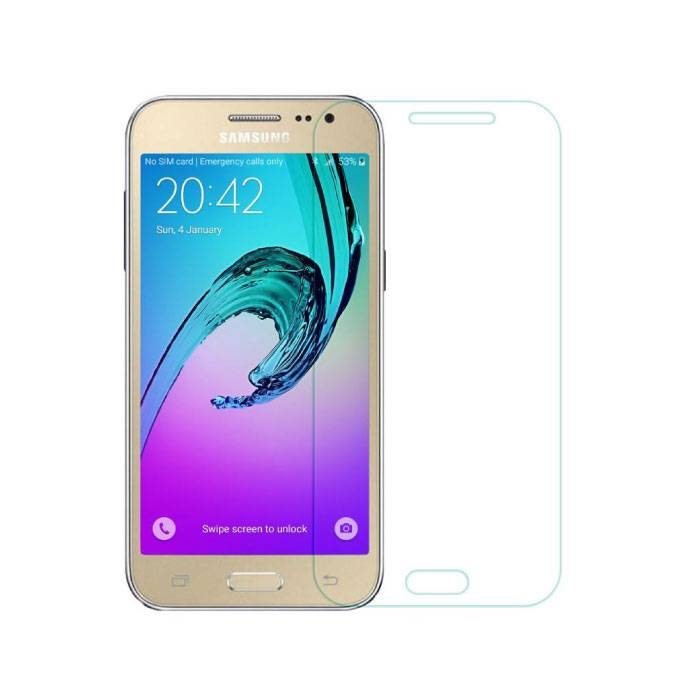 2-Pack Screen Protector Samsung Galaxy J2/J200F/J200G Tempered Glass Film Gehard Glas Glazen
