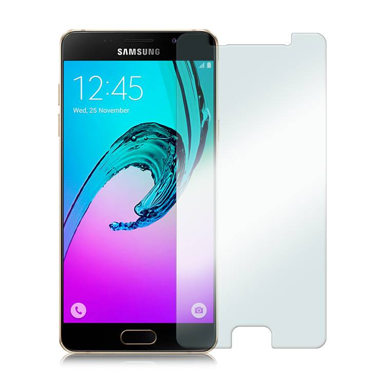 2-Pack Screen Protector Samsung Galaxy A3 2016 Tempered Glass Film Gehard Glas Glazen