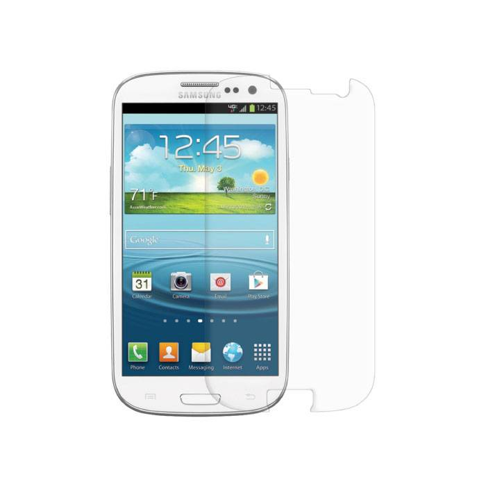 2-Pack Screen Protector Samsung Galaxy S3 i9300 Tempered Glass Film