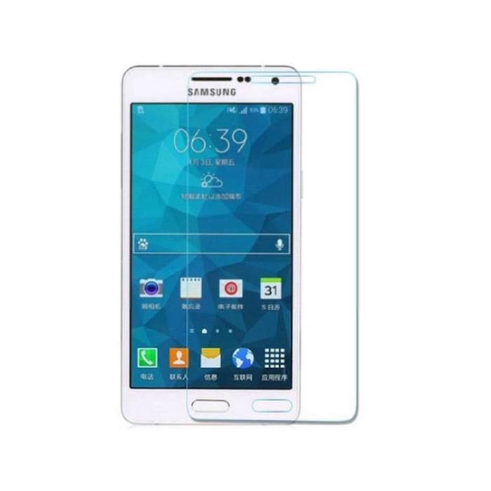Samsung Galaxy A7 2016 Film de protection d'écran en verre trempé Lunettes en verre trempé