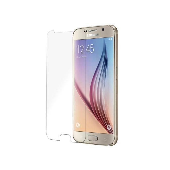 Verres en verre trempé de film de verre trempé de protecteur d'écran de Samsung Galaxy S6