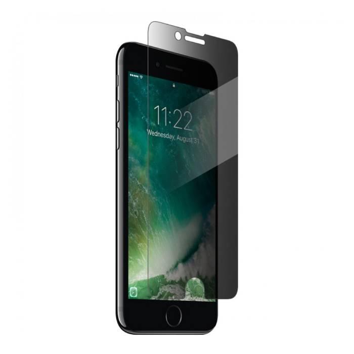 Lunettes en verre trempé de film de verre trempé de protecteur d'écran d'intimité d'iPhone 8