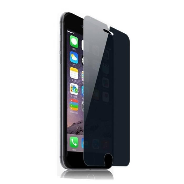 iPhone 7 Plus Protecteur d'écran de confidentialité Film de verre trempé Lunettes en verre trempé