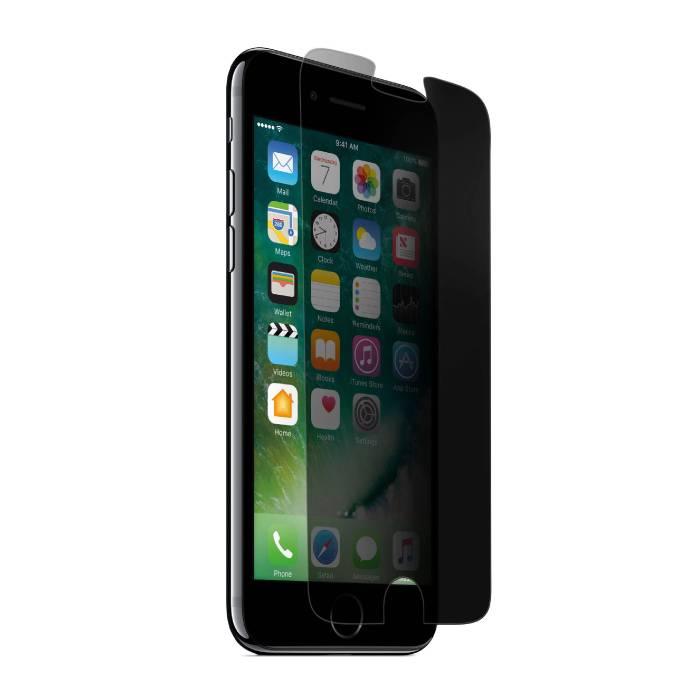 Lunettes en verre trempé de film de verre trempé de protecteur d'écran d'intimité d'iPhone 6S