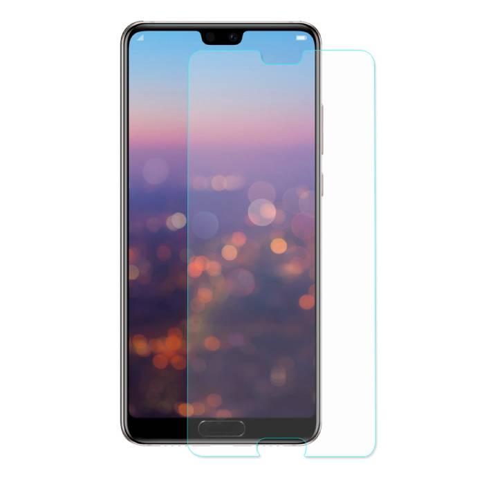 Lunettes en verre trempé de film de verre trempé de protecteur d'écran Huawei P20