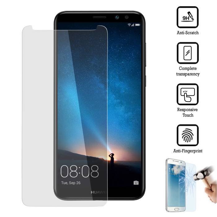 Film de protection d'écran en verre trempé Huawei Mate 10 Lite