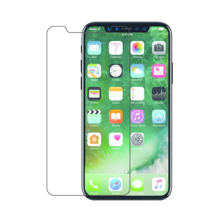 2-Pack Screen Protector iPhone X Tempered Glass Film Gehard Glas Glazen