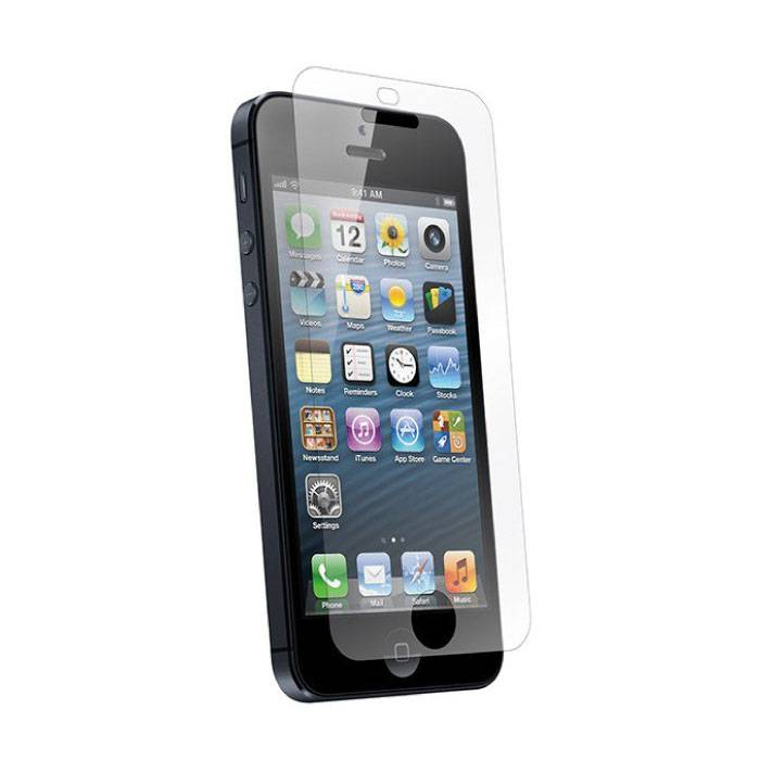 2-Pack Screen Protector iPhone 5S Tempered Glass Film Gehard Glas Glazen