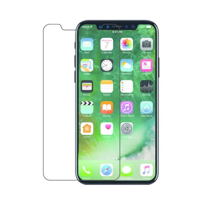 Protecteur d'écran iPhone X Film en verre trempé Lunettes en verre trempé