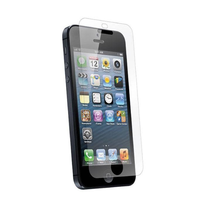 Protecteur d'écran iPhone SE Film en verre trempé Lunettes en verre trempé