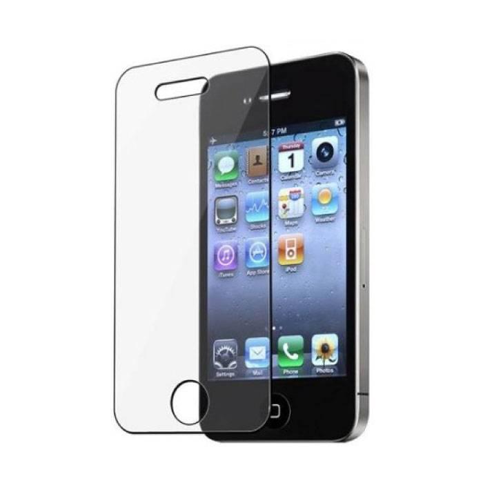 Protecteur d'écran iPhone 4SLunettes en verre trempé avec film de verre trempé