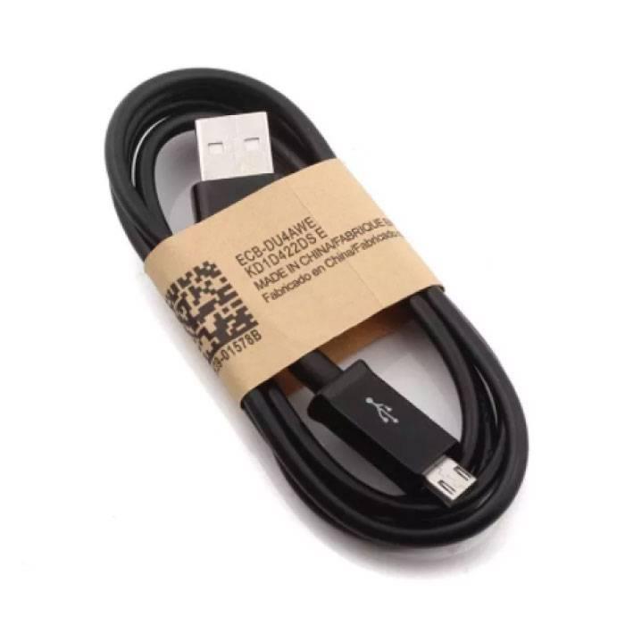 2-Pack USB 2.0 - Micro-USB Cable Chargeur Cable 1 metre de données Android Noir